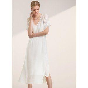 Aritzia Babaton Jessie Dress White Size XXS